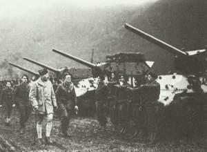 französische Jagdpanzer M10 Wolverine