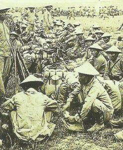 Französische Truppen aus Indochina