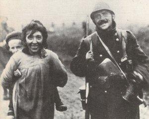Französischer Soldat kehrt heim