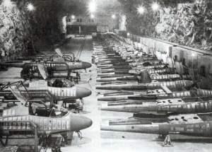 He 162 Produktion Salzmine Tarthun