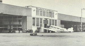 Flughafen Tempelhof im Jahr 1928