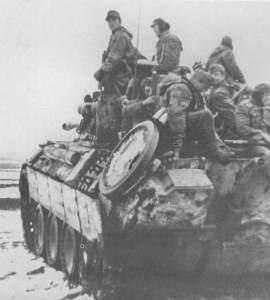 Panther-Panzer der Panzergrenadier-Division Grossdeutschland