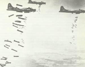 B-17 während 'Big Week'
