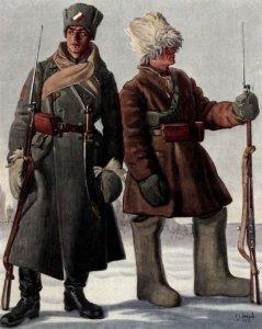 Soldaten der Tschechischen Legion