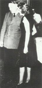 Hitler mit Eva Braun