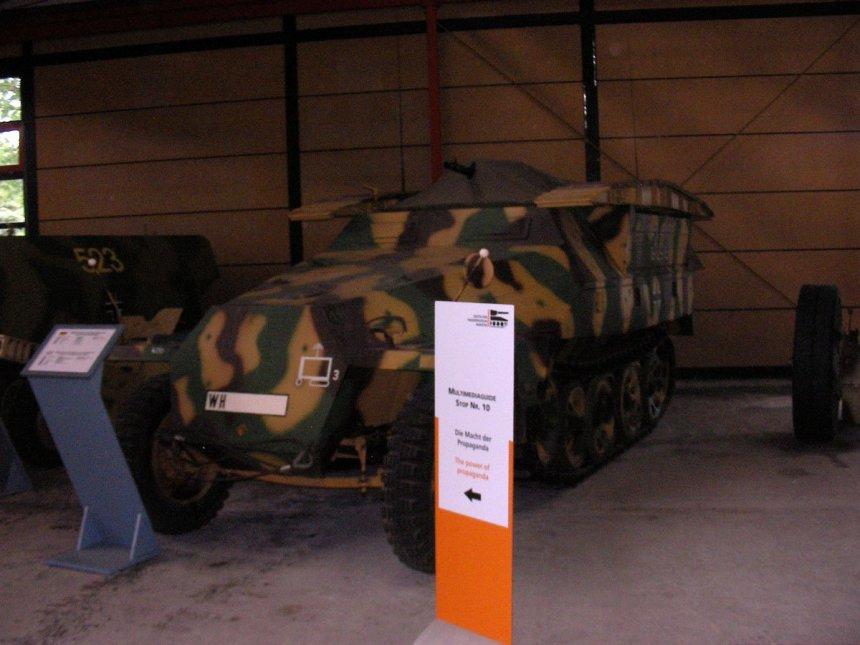 SdKfz 251/1 im Panzermuseum Munster
