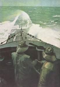 Deutsches U-Boot vor Kapstadt
