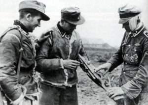 Angehöriger der 5. SS-Panzer-Division Wiking