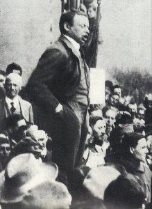 ungarische Kommunistenführer Bela Khun