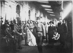 Kaiser Karl Restaurations-Versuch in Ungran 1921