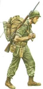 US-Scharfschütze in Nord-Burma
