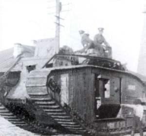 Mark V Tank Archangelsk