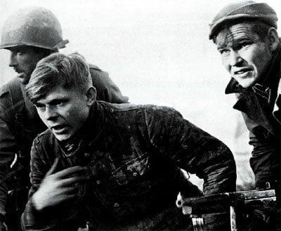 Gefangen genommer SS-Soldat Bastogne
