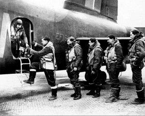 Besatzung eines Stirling-Bomber