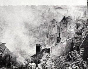 zerstörte Caen