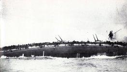 Untergang des Panzerkreuzers 'Blücher'