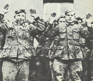 gefangengenommen jugendlichen Soldaten