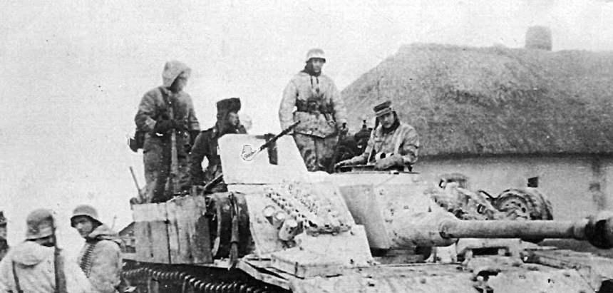 Sturmgeschütz des II. SS-Panzer-Korps