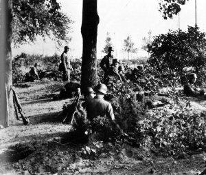 Waffen-SS-Soldaten Oosterbeek