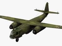 3d-Modell vom Ar 234 B-2 Blitz.