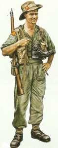 Britischer Soldat Burma 1945