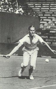 Tennisspieler Gottfried von Cramm