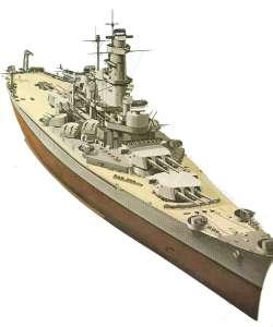 Schlachtschiff South Dakota