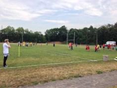 Die Initiative Weltoffenes Gohlis beim 1. Interkulturellen Sportfest in Leipzig, Samstag, 13. Juni 2015