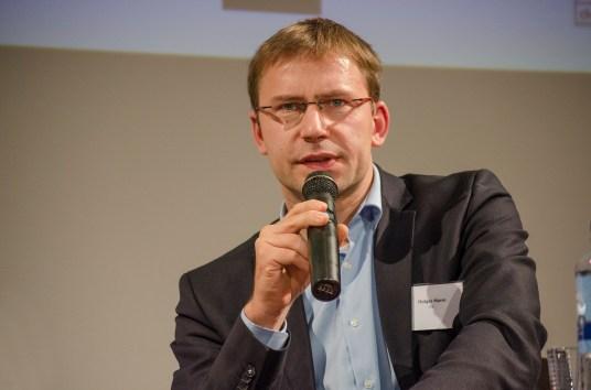 Holger Mann, MdL bei der Posiumsdikussion