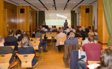 """Diskussionsveranstaltung """"Mein Nachbar, die anderen und ich – Kulturelle Vielfalt im Stadtteil""""; Foto: Andreas Reichelt"""
