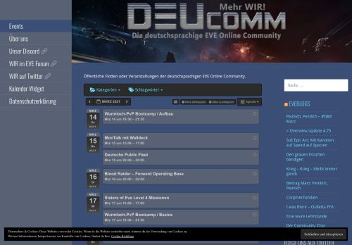 DEUComm – Deutsche Community-Flotten in EVE Online