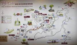 Karte aller Routen