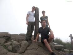 Auf dem Gipfel des Vulkans!