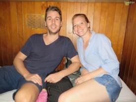 Luke and Emma (die beiden sind aus England und wollen fuer ca 6 Monate durch die Welt reisen)