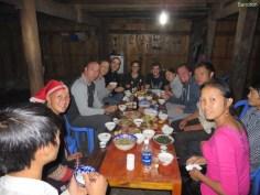 Alle beim Essen