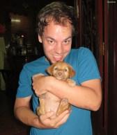 Puppy ganz suess