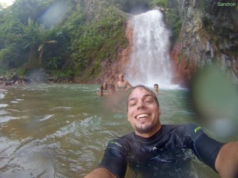 Ausflug zu Wasserfällen