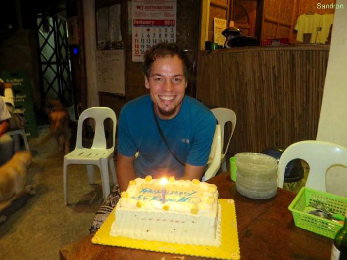 Arons 33. Geburtstag