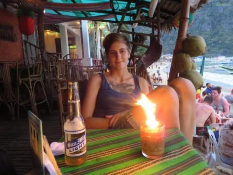 Abendessen in El Nido