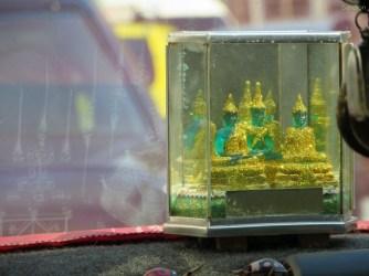 Der Jadebuddha in Miniatur