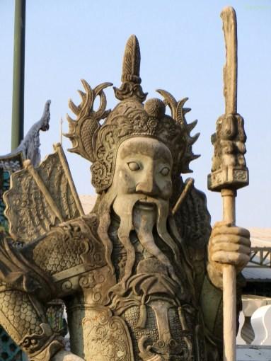 Kriegerstatuen