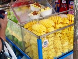 Frisches Obst an jeder Straßenecke