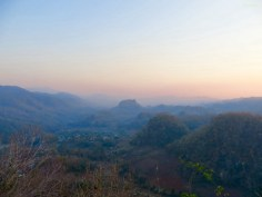 Sonnenuntergang vom Big Knob