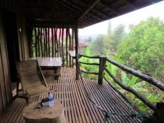 Unser Balkon mit super Ausbliick