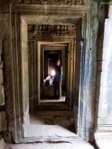 In den Bayon Katakomben