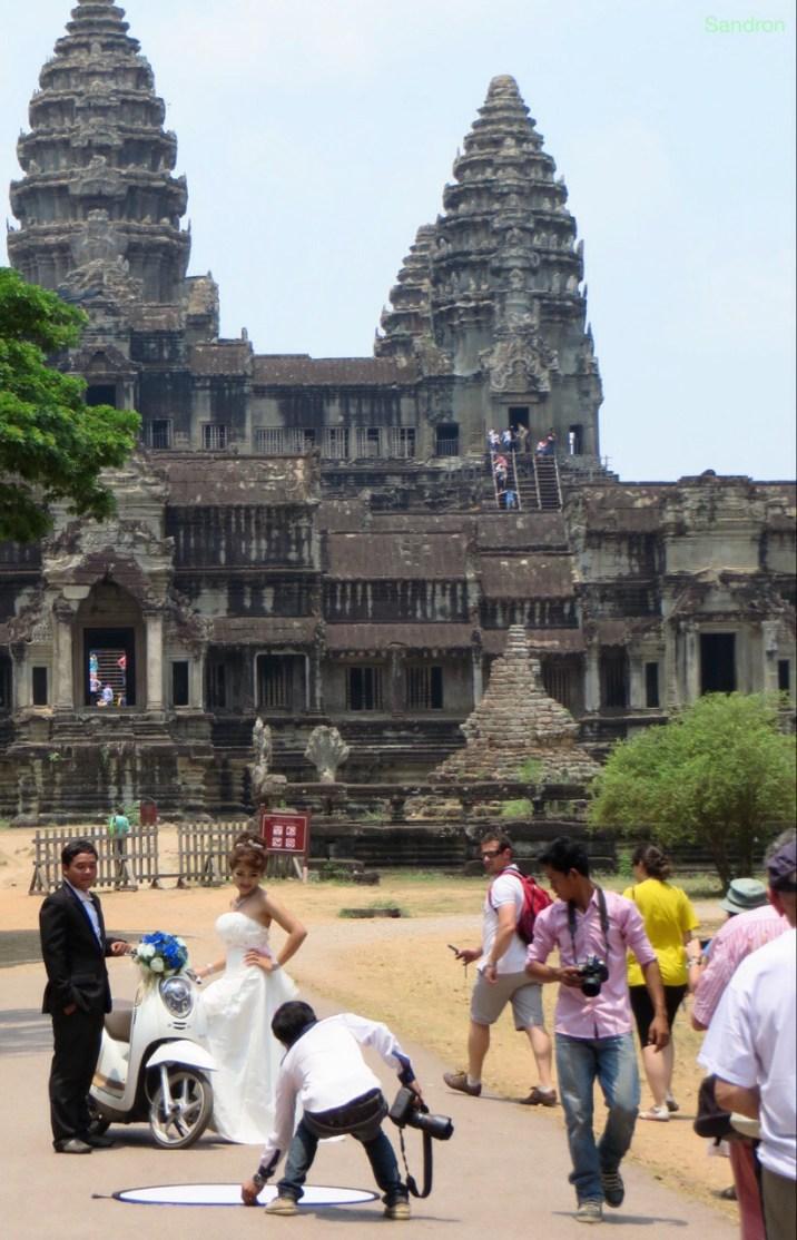 Hochzeit in Angkor Wat