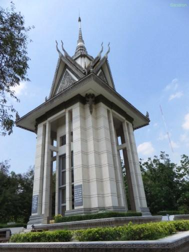 Die Gedenkstupa