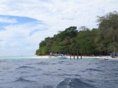 Die Insel Sipadan.