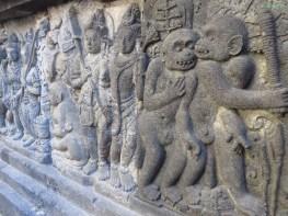 die Affen haben Shiva geholfen seine entführte Frau zu befreien