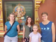 im großen indischen Tempel